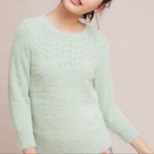 Anthropologie | Rosie Neira mohair knit sweater